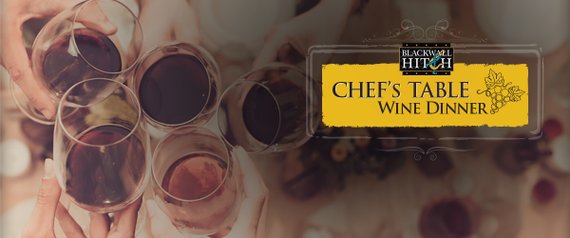 Chefs table wine dinner banner