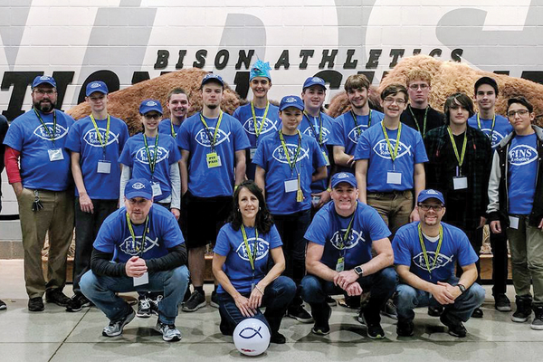 For the sixth time in seven years, the FINS Robotics team, a group of middle and high school homeschoolers from the northern suburbs of Pittsburgh, qualified for the BEST Robotics regional competition in North Dakota.