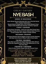Great Gatsby New Years Eve Bash - start Dec 31 2017 0730PM
