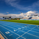 Among the multiple facilities on the 500-acre IMG property is a track and field training area. Photo courtesy of IMG Academy.