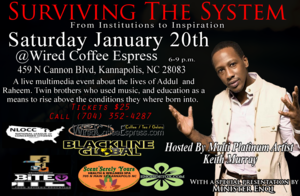 Surviving the System - start Jan 20 2018 0600PM