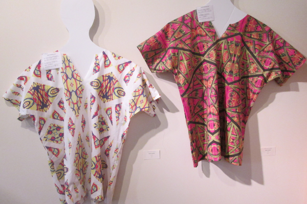 Printed dashikis by Whitney McQueen.