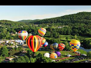 39th Annual Quechee Hot Air Balloon Craft and Music Festival - start Jun 15 2018 0300PM