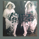 This photo depicting wedding fashions from 91 years ago was just one piece of memorabilia of the many on display