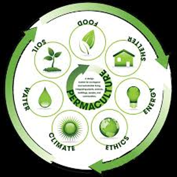 Permaculture 20green 20circle 20graphic