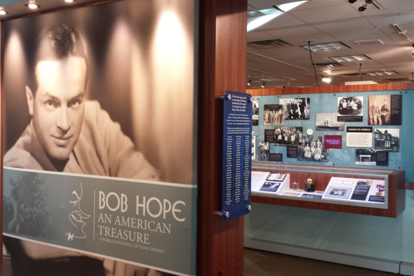 Bob Hope: An American Treasure exhibit now on display at the Utah Cultural Celebration Center through April 2018. (Keyra Kristoffersen/City Journals)