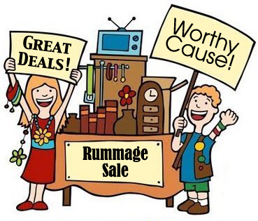 Rummage sale graphic