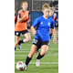 : Hillcrest Junior High's Sophie Post has been playing soccer since age 4. (Caprice Post)