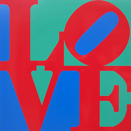 Robert indiana art mitchell gallery annapolis st johns