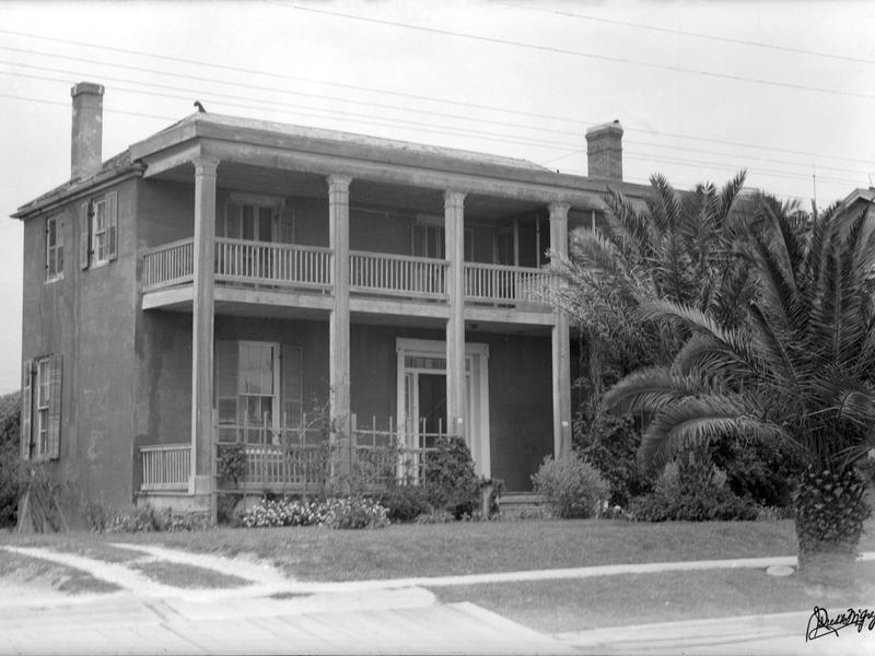 Britton Evans Centennial House Stands Watch