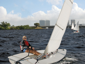Youngsters gain selfconfidence along with experiencing the joy and the thrill of the open seas by participating in Edison Sailing Center courses Photo by Brian Stromlund