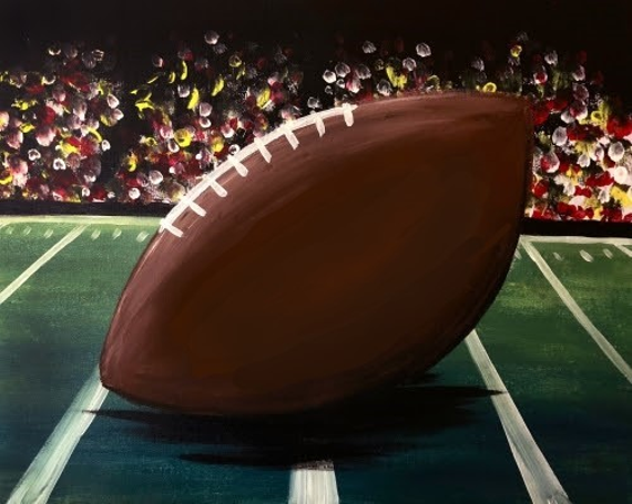 Football 20paint 20night