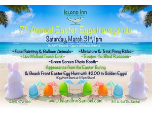 7th Annual Easter Eggstravaganza at Island Inn - start Mar 31 2018 0100PM