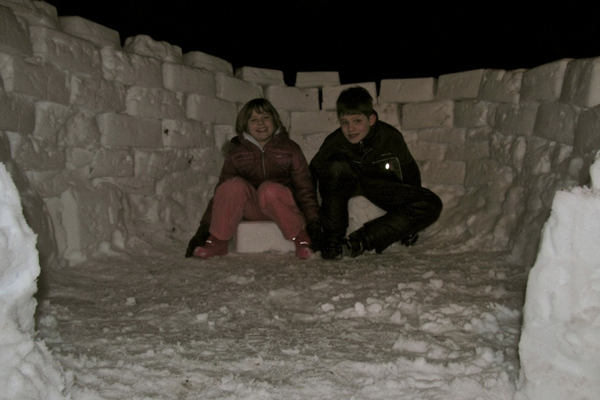 Jason & Kaitlyn Hulbert Igloo