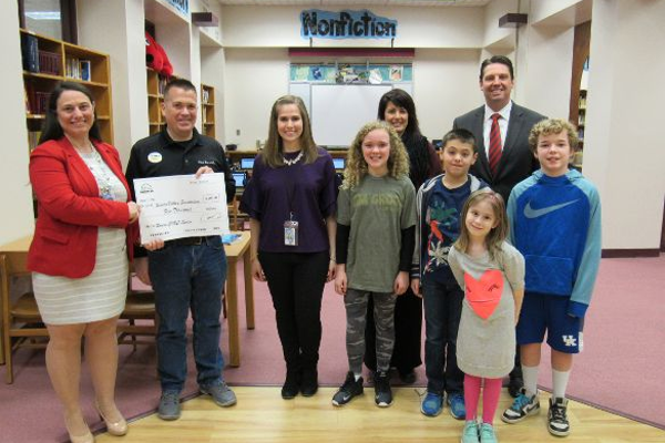 Fun Fore All Donates to Rowen Elementary