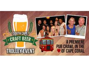 2nd Annual South Cape Craft Beer Trolley Event - start Apr 28 2018 0700PM