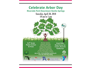 Arbor Day - start Apr 28 2018 1000AM