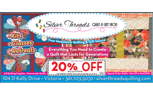 Silver 20threads 20quilt 20  20gift 20shop 20  20cc 20  20may june 202018