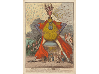 Sense of humor gillray midas transmuting all into paper