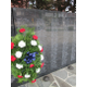 One of the wreaths placed at the Avon Grove Veterans Memorial on May 26.