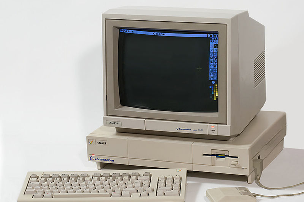 The original Amiga 1000 computer had revolutionary resolution and multitasking capabilities.