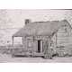 'Country Living,' a pen-and-ink by Victoria D'Ascenzo.