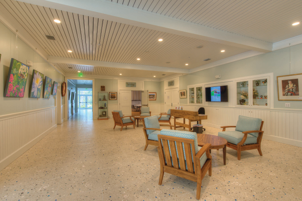 The beautifully renovated Sanibel Community House, originally built in 1927. Photo courtesy of Jonathan Tongyai.