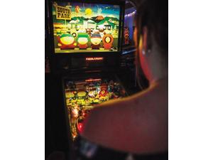 The Basement Arcade Bar: Pinheads are Flipping!   Cabarrus