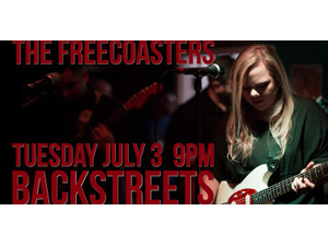 The Freecoasters at Backstreets in Cape Coral - start Jul 03 2018 0900PM