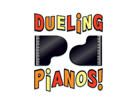 Dueling pianos logo