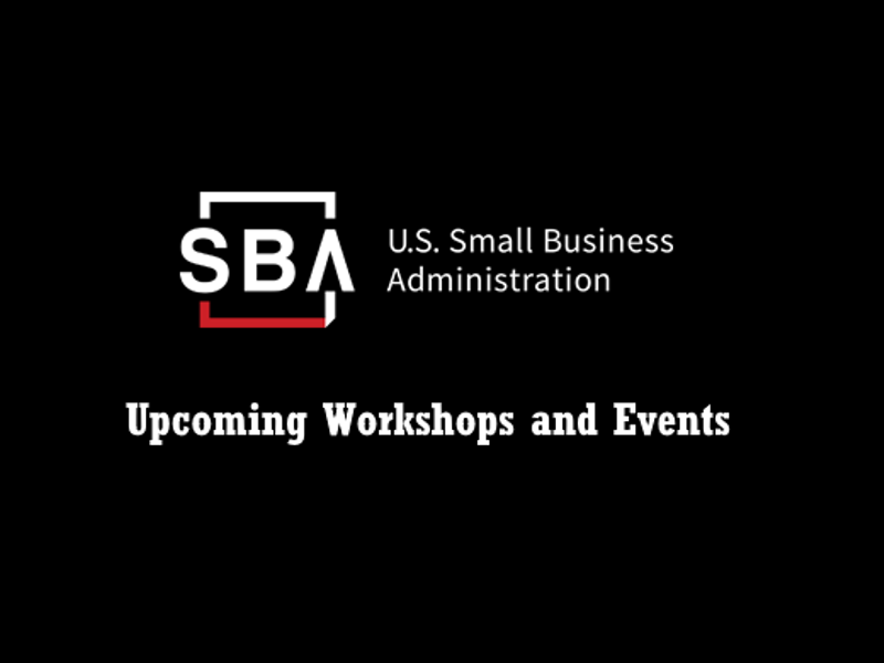 SBA San Diego District Office Workshops & Events to Help You