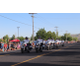 A Motorcade demonstrates its coordinated maneuvers to start off the Riverton Town Days Parade. (Travis Barton/City Journals)