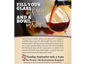 DeRomos Fall Wine Showcase - start Sep 25 2018 0500PM