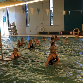 Water 20fitness 20class