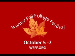 2018 Warner Fall Foliage Festival - start Oct 05 2018 0600PM