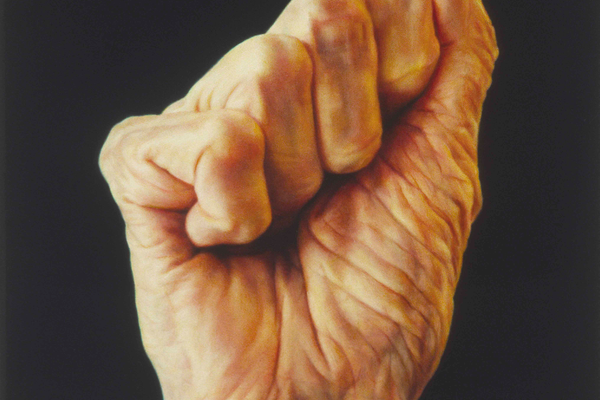 'Fist Series: Old Woman.'