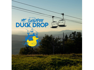 Drop Rubber Ducks From The Chair Lift At The 2nd Annual Mt Sunapee Duck Drop - Sep 21 2018 1226PM