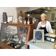 Edie ONeill behind the counter at Edies Sweet and Savory Pastries in West Chester
