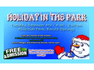 Bonita Springs Holiday In The Park - start Dec 04 2018 0430PM
