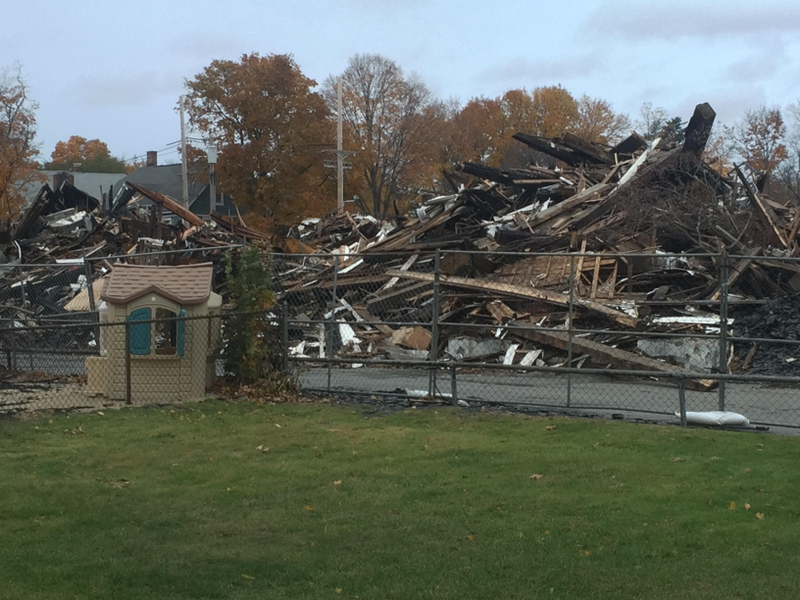 Wakefield Two Weeks After A Historic And Beloved Church In Downtown Wakefield Was Destroyed In A7 Alarm Fire The Interim Pastor Of First Baptist Church