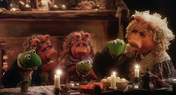 The Muppet Christmas Carol.Sunday Movie Hot Chocolate Bar The Muppet Christmas Carol