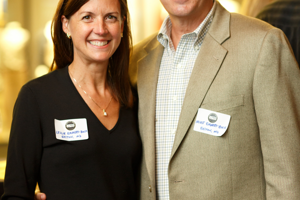 Dr. Leslie and Mike Emmert-Buck