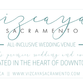 Vizcaya sacramento wedding venue events graphic