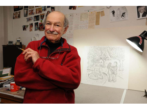 New Yorker and Vermont Cartoonist Laureate Edward Korens New Book Delights