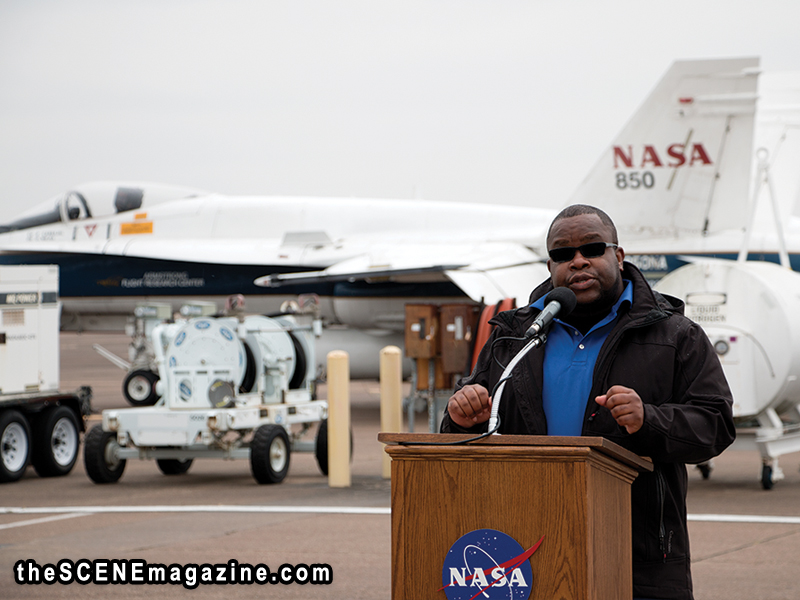 Area Plays Role in Development of NASA's Newest X-plane (X