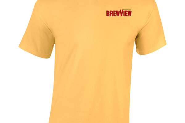 Brewview 20vermont 20tshirt 20yellow 20haze