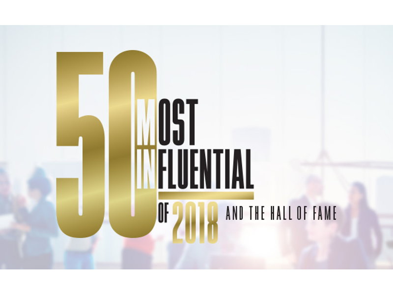 50 Most Influential People Of 2018 | Columbia Business Monthly