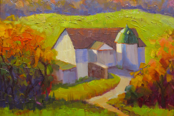 'Autumn Vista at Granogue' by Maryanne Jacobsen.