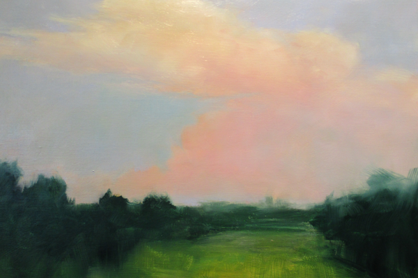 'Sunset Over Kennett Square' by Dan Chow.