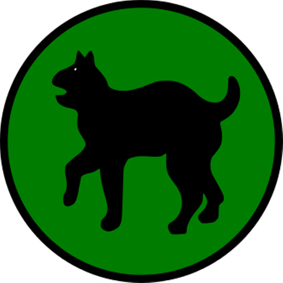 330px us army 81st infantry division ssi